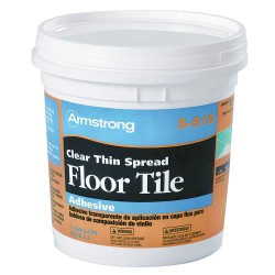 Armstrong Tools - FP00515408 - Vinyl Composition Tile Adhesive, 1 gal. with 350 sq. ft. Coverage Area