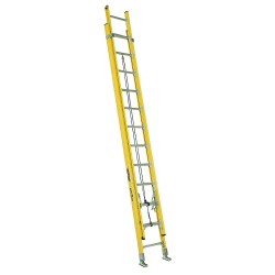Louisville Ladder - FE4224HD - Extension Ladder, Fiberglass, IAA ANSI Type, 12 ft. Ladder Height