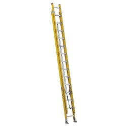 Louisville Ladder - FE4228HD - Extension Ladder, Fiberglass, IAA ANSI Type, 28 ft.