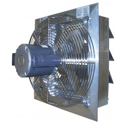 Canarm - AX18-4 - 1/3HP 115/208-230VACV Shutter Mounted Explosion Proof Exhaust Fan