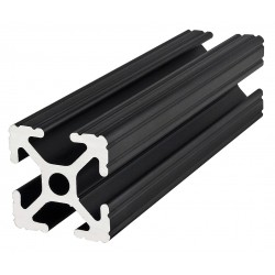 80/20 - 1010-BLACK-72 - Framing Extrusion, T-Slotted, 10 Series