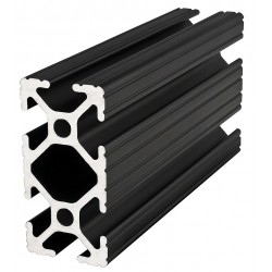 80/20 - 1020-BLACK-72 - Framing Extrusion, T-Slotted, 10 Series
