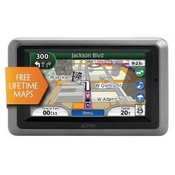 Garmin - ZUMO665LM - 5.3 x 0.9 x 3.3 Motorcycle GPS Navigator, Silver/Black