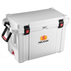 Pelican - 95QT - 95 qt. White Marine Chest Cooler