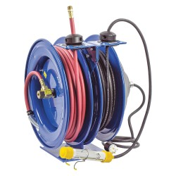 Coxreels / Coxwells - C-L350-5016-C - Combination Air/Water, Electric Reel, 0.3 Amps, 16 Wire Gauge (AWG), 300 psi, 3/8, Hose Length: 50
