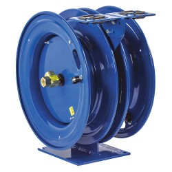 Coxreels / Coxwells - C-LPL-350-350 - Combination Air/Water Reel, 300 psi, 3/8, AC Cord Length: Not Included