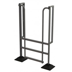 Tri Arc - URTL903 - Configurable Crossover Ladder, Aluminum, 30 Platform Height, Number of Steps 3