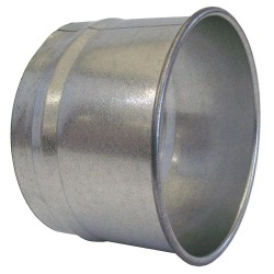 Nordfab - 3282-1400-100000 - Duct Hose Adapter, 14 dia., Steel
