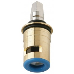 Chicago Faucet - 1-100XKBL12JKABNF - Brass, Stainless Steel LH Ceramic Cartridge box lot, For Use With Manual Faucets