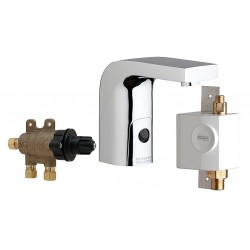 Chicago Faucet - 116.970.AB.1 - Low Lead Cast Brass Bathroom Faucet, Sensor Handle Type, No. of Handles: 0