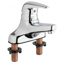 Chicago Faucet - 420-MPABCP - Bathroom Faucet, Lever Handle Type, No. of Handles: 1