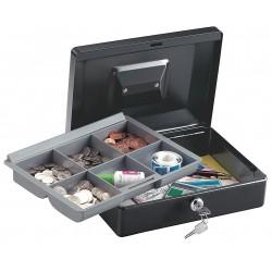 SentrySafe - CB-10 - Security Box, Steel, Key Lock, Black