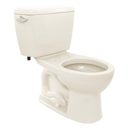 Toto - CST743S#11 - Eco Drake Two Piece Tank Toilet, 1.6 Gallons per Flush, Colonial White