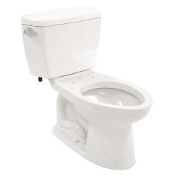 Toto - CST744SL#01 - Drake ADA Two Piece Tank Toilet, 1.6 Gallons per Flush, Cotton