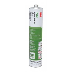 3M - 730 - 3M 730 Hybrid Adhesive Sealant, Clear, 305ml Tube