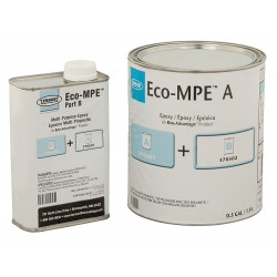 Tennant - 370503 - Clear Epoxy Activator and Finish Kit, Gloss Finish, 200 sq. ft./gal. Coverage, Size: 3 gal.