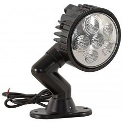 Buyers - 1492126 - Spot Light, Round, LED, 1350 Lumens