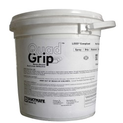 Ductmate Industries - GR4EVERHOLD1 - White 1 gal. Adhesive, Insulation, 10 to 20 min. Curing Time, 1 EA