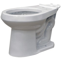 Gerber - VP-21-552 - Toilet Bowl, Floor Mounting Style, Round, 1.6 Gallons per Flush