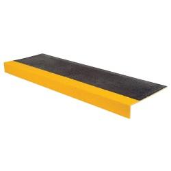 Rust-Oleum - 271796 - Yellow/Black, Plastic/Fiberglass Stair Tread Cover, Installation Method: Adhesive or Fasteners, Squa