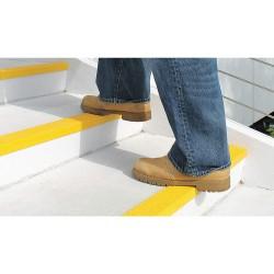 Rust-Oleum - 271818 - Yellow, Plastic/Fiberglass Stair Nosing, Installation Method: Adhesive or Fasteners, Square Edge Typ