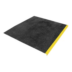 Rust-Oleum - 271816 - Yellow/Black, Plastic/Fiberglass Landing Tile Cover, Installation Method: Adhesive or Fasteners, Squ