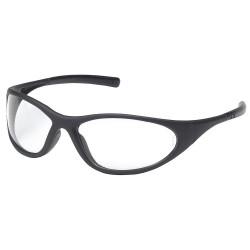 Pyramex - 29XU02 - Zone II Scratch-Resistant Zone II, Black Frame, Clear Lens, Clear Lens Color