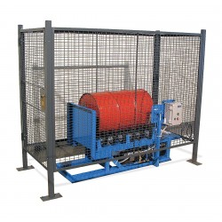 Morse - GEK-456-A - Drum Safety Enclosure, Pneumatic Gate Switch, Overall Width 40, Overall Height 74