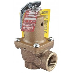Watts Water Technologies - LF174A-150-1-1/2 - Boiler Pressure Relief Valve, 7, 630, 000 BtuH, 150 psi