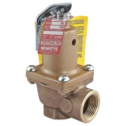 Watts Water Technologies - LF174A-125-2 - Boiler Pressure Relief Valve, 1, 217, 000 BtuH, 125 psi