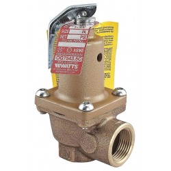 Watts Water Technologies - LF174A-150-2 - Boiler Pressure Relief Valve, 1, 437, 000 BtuH, 150 psi