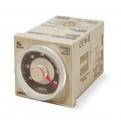 Omron - H3CR-H8L AC100-120 M - Analog Timer, Multifunction, H3CR-H Series, Off-Delay, 4 Ranges, 0.05 min, 12 min, Solid State