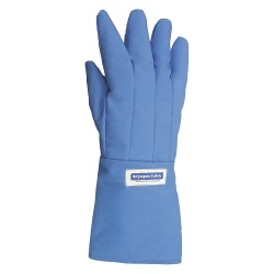 National Safety Apparel - G99CRBEPLGMA - Waterproof Cryogenic Gloves, Nylon Taslan and PTFE, Size L, 14 to 15 Length