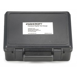 Ashcroft - 201B112-01 CARRYING CASE - Hard Carrying Case, 7 In. H, 4 In D, Black