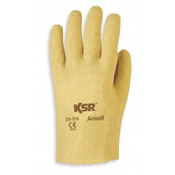 Ansell-Edmont - 22-515 - Rough Coated Gloves, Glove Size: XS, Yellowish Brown