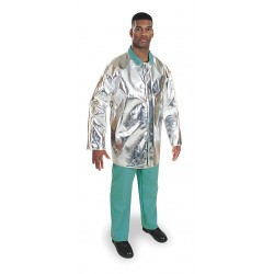 Steel Grip - ARL 1136-35 - 35 PFR Rayon Aluminized Jacket, Fits Chest Size 50 to 52, 2XL