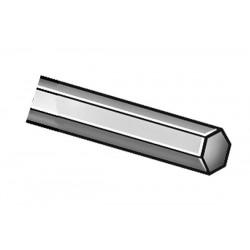 Other - 2AVF9 - Hex Rod, Steel, 1018, 2 1/2 In Hex x 1 Ft
