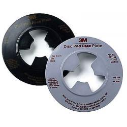 3M - 13325 - 3M 13325 Disc Pad Face Plate 13325, 4-1/2 in Medium Gray, 10 per case