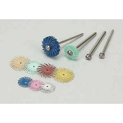 Scotch-Brite - 30002 - 3/4 Radial Bristle Disc, Curved Bristles, Arbor, 1 Micron Grit, Package Quantity 192