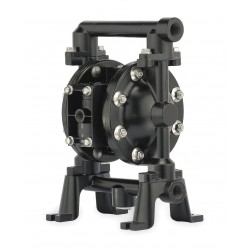 Ingersoll-Rand - 650718-C - Aluminum Viton Single Double Diaphragm Pump, 75 gpm, 50 psi