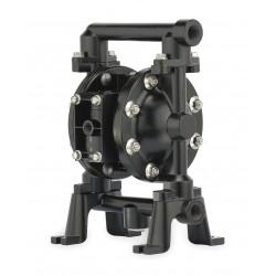 Ingersoll-Rand - 650719-C - Aluminum Viton Single Double Diaphragm Pump, 75 gpm, 50 psi