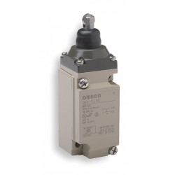 Omron - D4A1110N - Plunger, Roller Heavy Duty Limit Switch; Location: Top, Contact Form: SPDT, CW, CCW Movement