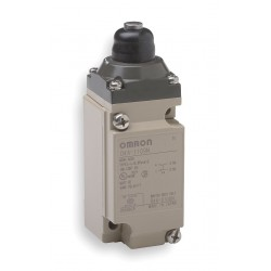 Omron - D4A2509N - Plunger Heavy Duty Limit Switch; Location: Top, Contact Form: DPDT, Top Movement