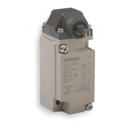 Omron - D4A2510N - Plunger, Roller Heavy Duty Limit Switch; Location: Top, Contact Form: DPDT, Top Movement