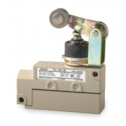 Omron - ZV2N222S - Plunger, Roller General Purpose Limit Switch; Location: Top, Contact Form: SPDT, Standard Movement