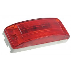Grote - 46802 - Clearance/Marker Lamp, Lens Optic, Red