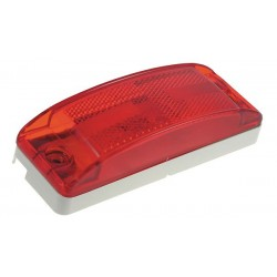 Grote - 46862 - Clearance/Marker Lamp, Relfex Lens, Red
