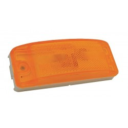 Grote - 46863 - Clearance/Marker Lamp, Relfex Lens, Ylw