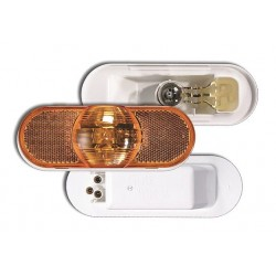Grote - 52513 - Side Turn/Marker Lamp, Oval