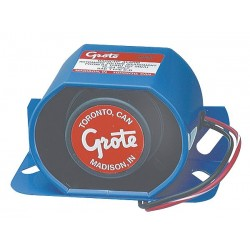 Grote - 73250 - Back Up Alarm, 107dB, Blue, 3 In. H